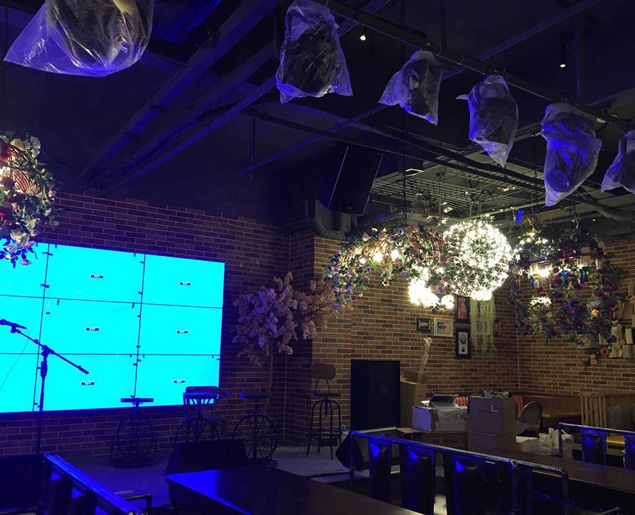 广州花吧音乐酒馆舞台音响系统工程